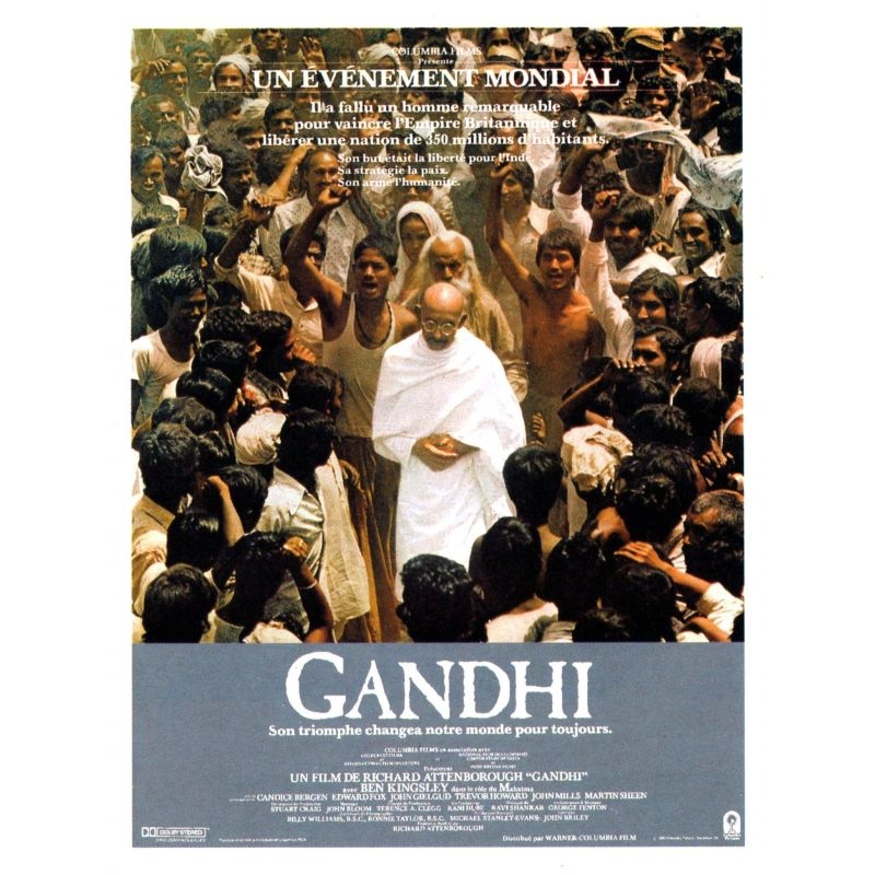 Affiche Gandhi (de Richard Attenborough)