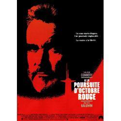 Affiche A la Poursuite d'Octobre Rouge (Avec Sean Connery)