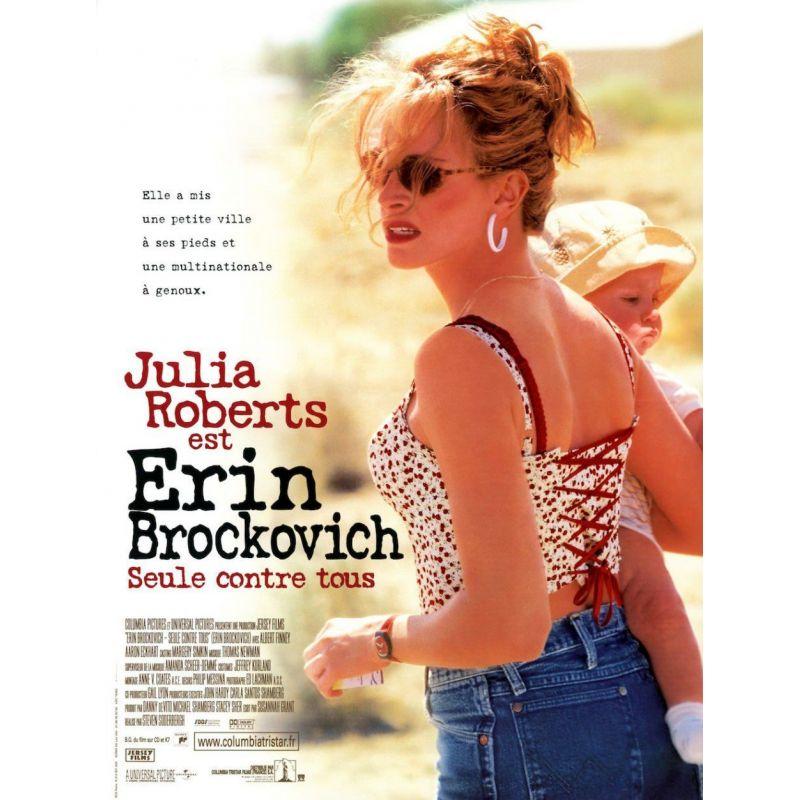 Affiche Erin Brockovich, Seule contre tous (Avec Julia Roberts)