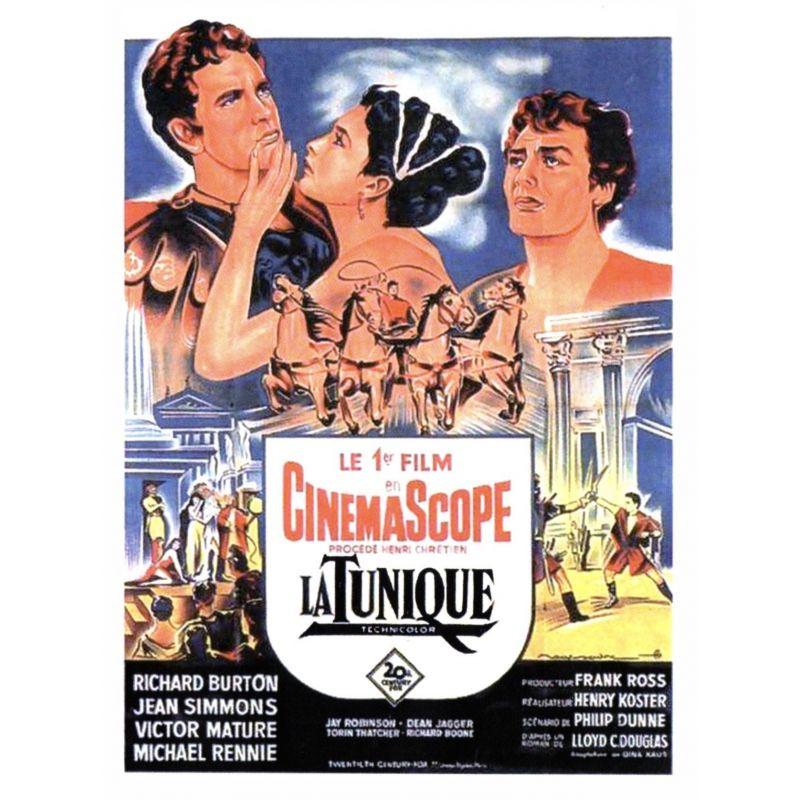 Affiche La Tunique (Avec Richard Burton)