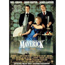 Affiche Maverick (Avec Mel Gibson et Jodie Foster)
