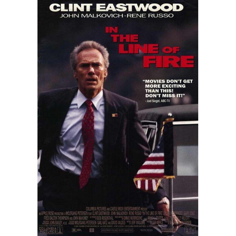 Affiche Dans la Ligne de Mire (Avec Clint Eastwood)