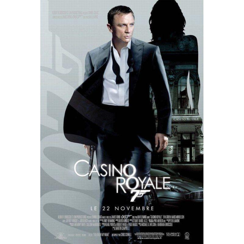 Affiche Casino Royale (Avec Daniel Craig)