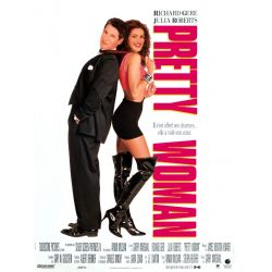 Affiche Pretty Woman (Richard Gere & Julia Roberts)