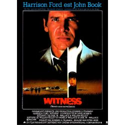Affiche Witness (Avec Harrison Ford)