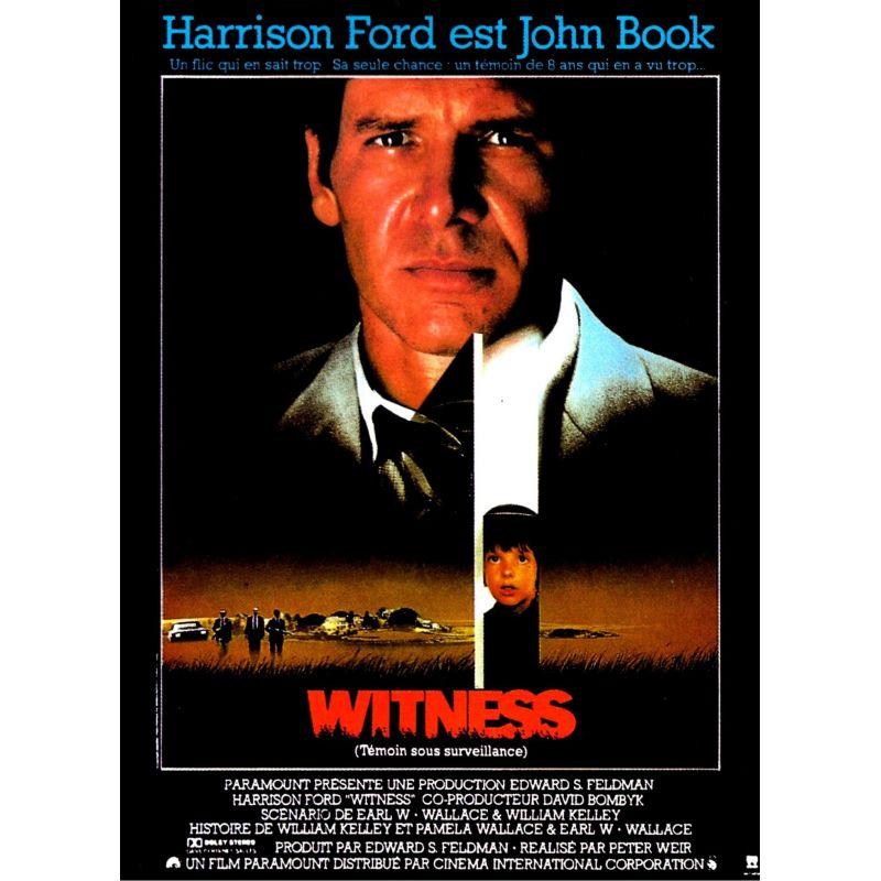 Affiche Witness (Avec Harrison Ford)