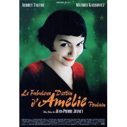 Affiche Le Fabuleux destin d'Amélie Poulain (de Jean-Pierre Jeunet)