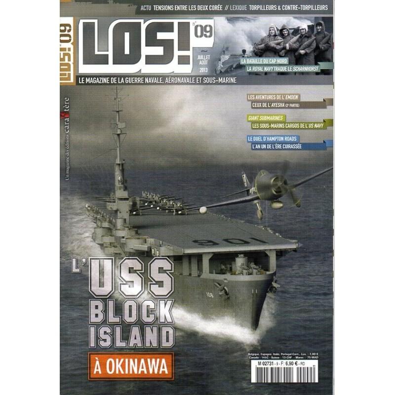 Los! n° 9 - l'USS Block Island à Okinawa