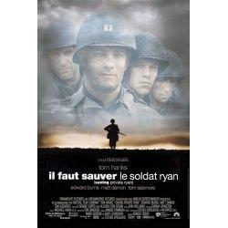 Affiche Il faut sauver le Soldat Ryan (de Steven Spielberg)