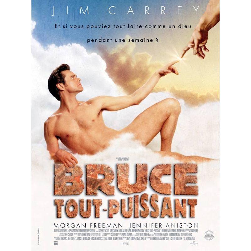 Affiche Bruce tout-puissant (avec Jim Carrey)