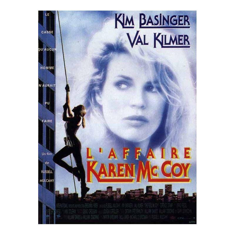 Affiche L'Affaire Karen Mc Coy (avec Kim Basinger & Val Kilmer)