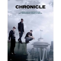 Affiche Chronicle (de Josh Trank)