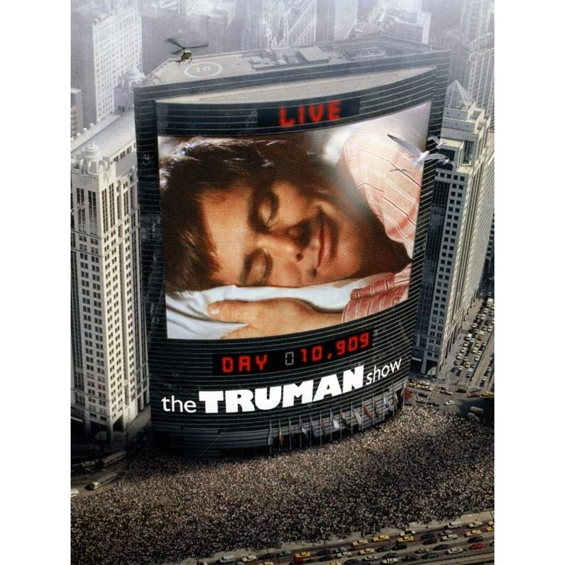 Affiche The Truman Show (avec Jim Carrey)