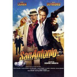Affiche San Antonio (avec Gérard Lanvin, Gérard Depardieu)
