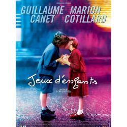 Affiche Jeux d'Enfants (avec Guillaume Canet, Marion Cotillard)