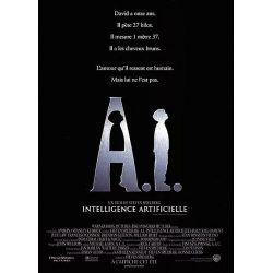 Affiche  A.I. Intelligence Artificielle (de Steven Spielberg)