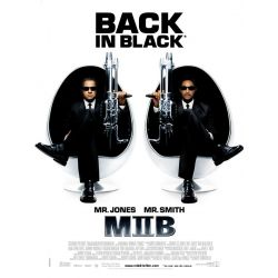 Affiche MIIB - Men in Black II (avec Tommy Lee Jones & Will Smith)