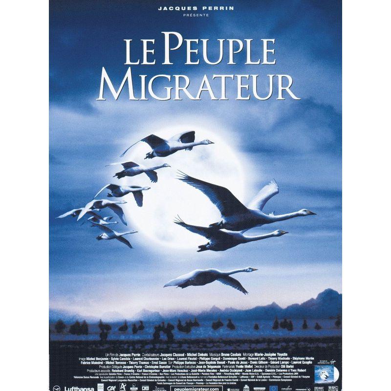 Affiche Le Peuple Migrateur (de Jacques Perrin)