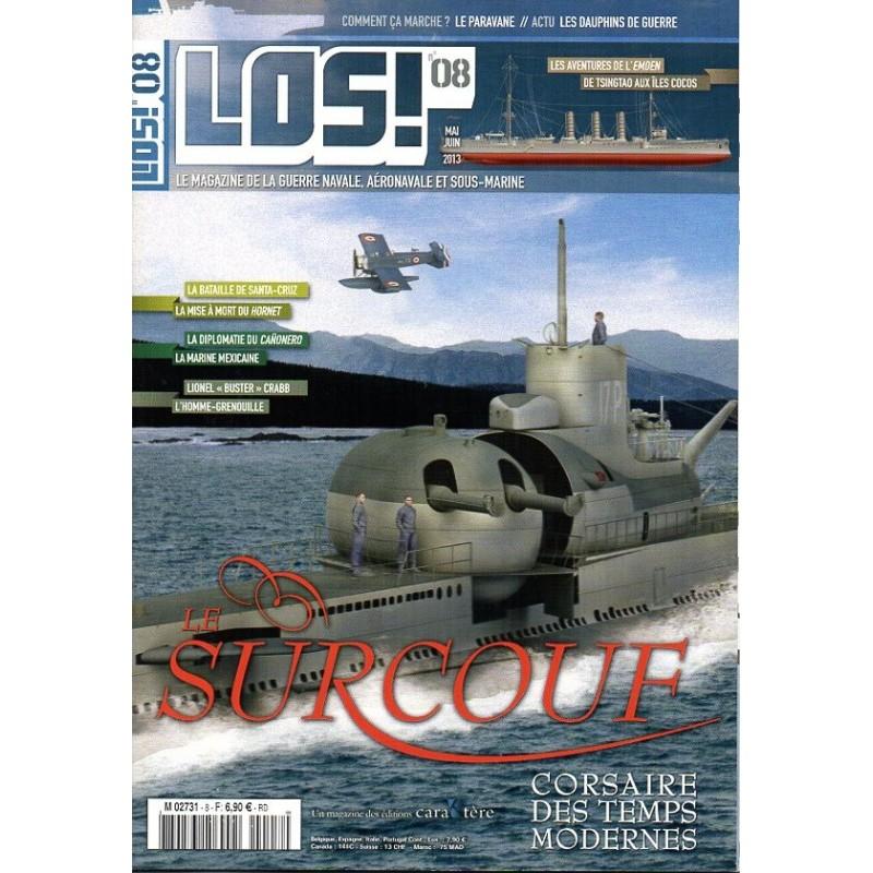 Los! n° 8 - Le Surcouf, corsaire des temps modernes