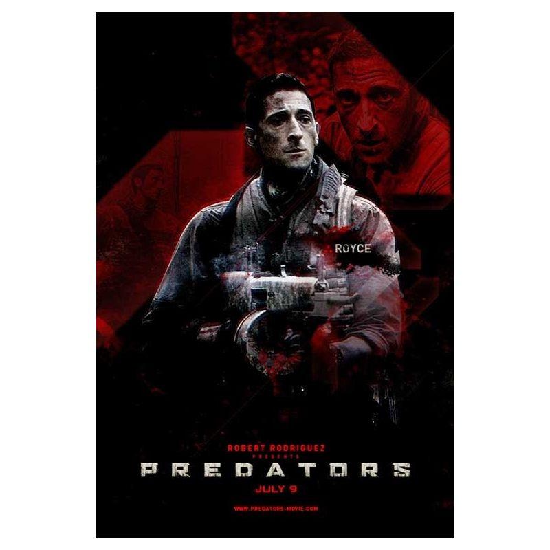 Affiche Predators (de Robert Rodriguez)