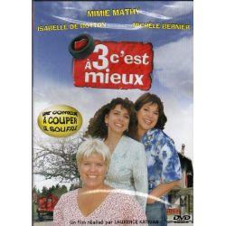 A 3 c'est mieux (avec Mimie Mathy) - DVD Zone 2