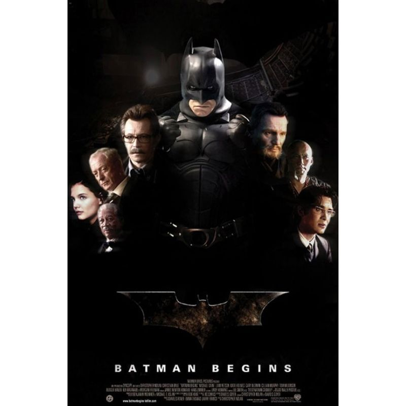 Affiche Batman Begins (Christian Bale)