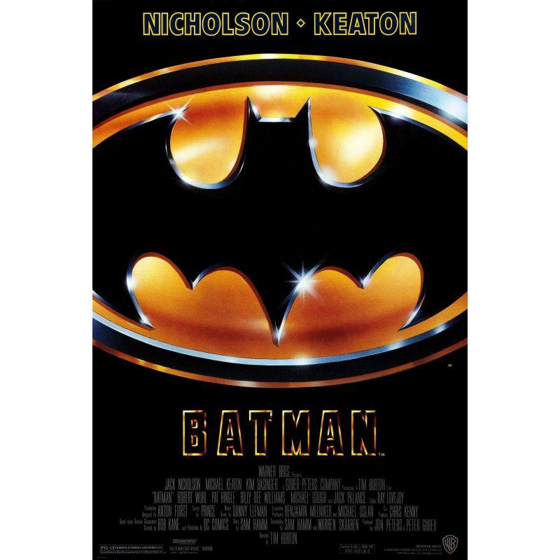 Affiche Batman (Michael Keaton, Jack Nicholson)