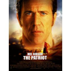 Affiche The Patriot, le Chemin de la Liberté (avec Mel Gibson)