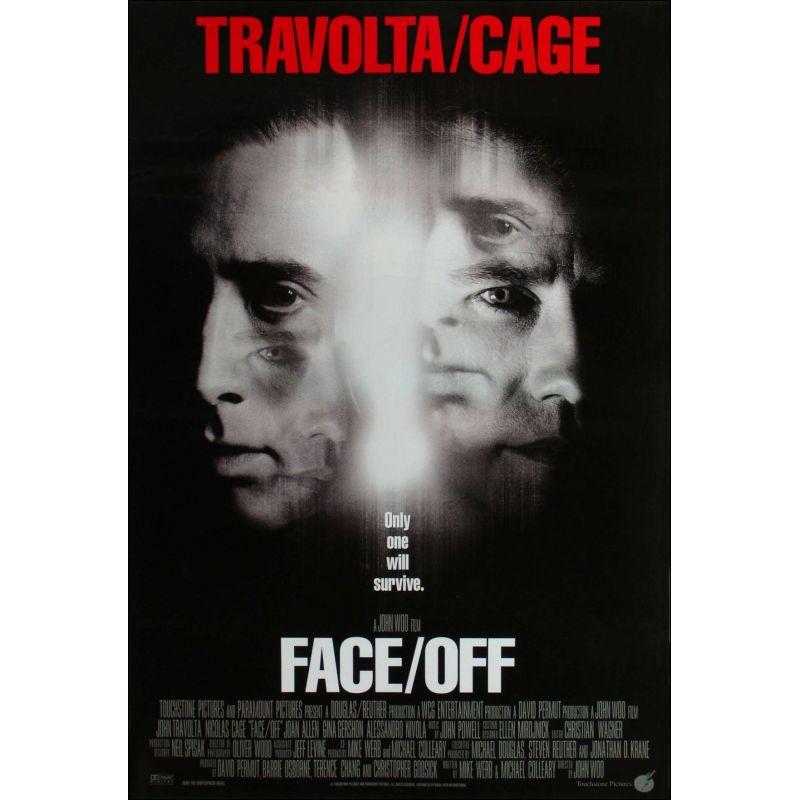 Affiche Volte / Face (avec John Travolta et Nicolas Cage)