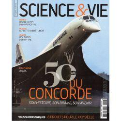 Science & Vie Hors série n° 47 H - 50 ans du Concorde, son Histoire, Son drame, son avenir