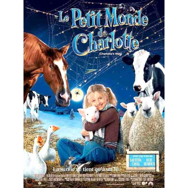 Affiche Le Petit Monde de Charlotte (de Gary Winick)