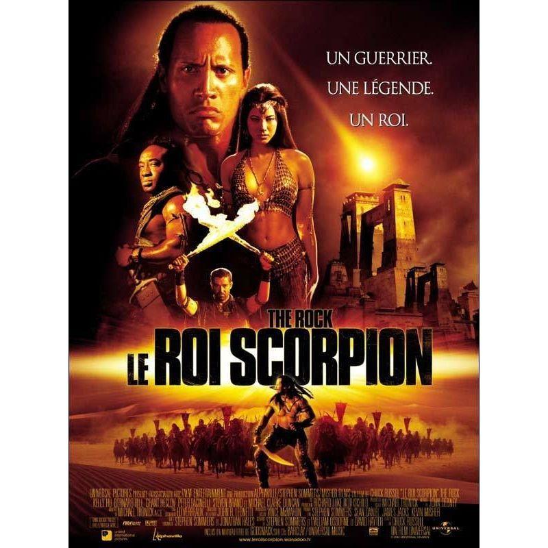 Affiche Le Roi Scorpion (avec Dwayne Johnson)