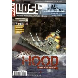 Los! n° 7 - HMS Hood, le héros déchu de la Royal Navy