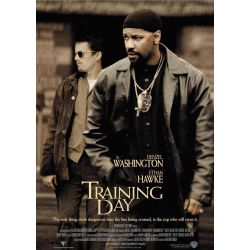 Affiche Training Day (avec Denzel Washington) - DVD Zone 2