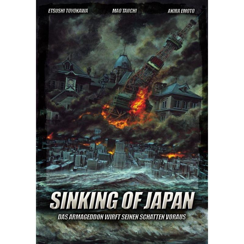 Affiche Sinking of Japan (de Shinji Higuchi) -