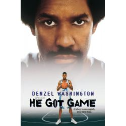 Affiche Film He Got Game (avec Denzel Washington)