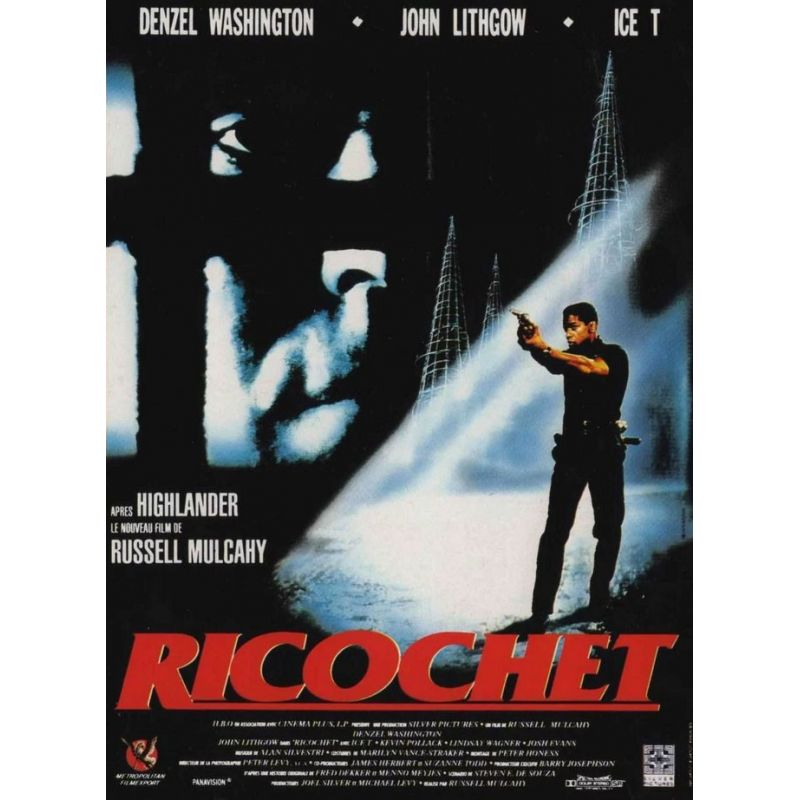 Affiche Film Ricochet (avec Denzel Washington)