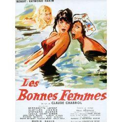 Affiche Les Bonnes Femmes (de Claude Chabrol)