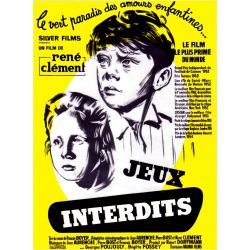 Affiche Jeux Interdits (de René Clément)