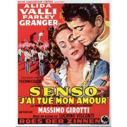 Affiche Senso (de Luchino Visconti)