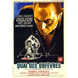 Affiche Quai des Orfèvres (de Henri-Georges Clouzot)