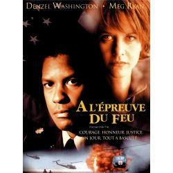Affiche A l'épreuve du feu (Denzel Washington)