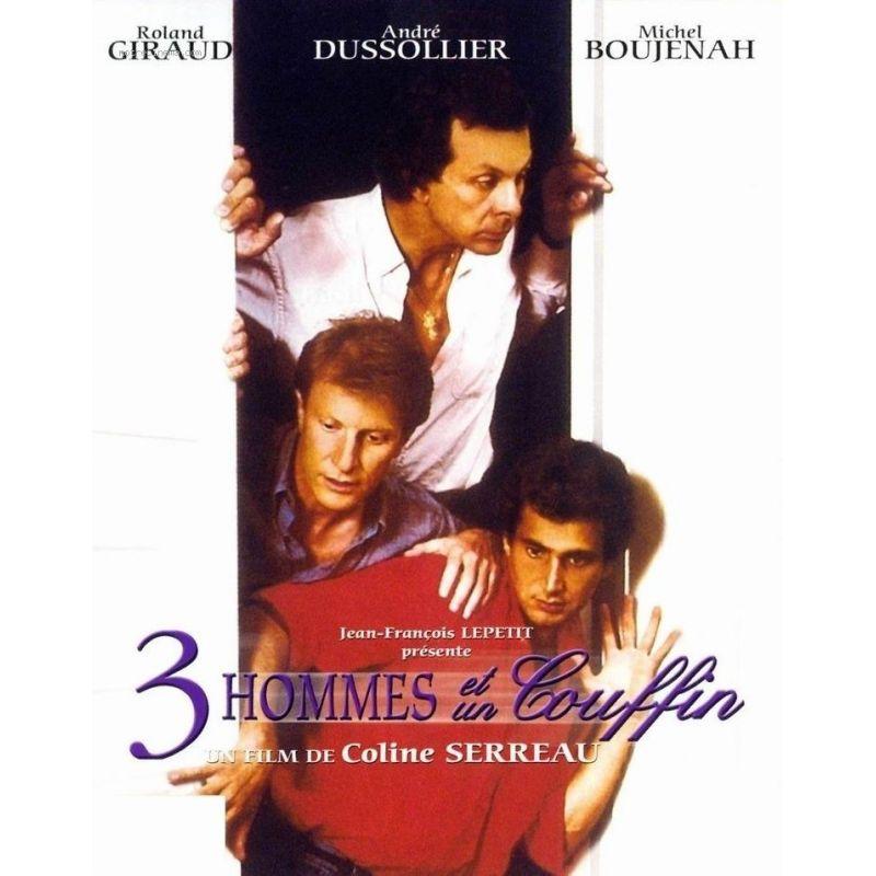 Affiche 3 Hommes et un Couffin (de Coline Serreau)