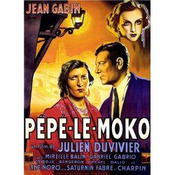 Affiche Pépé le Moko (de Julien Duvivier)