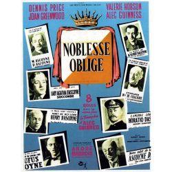 Affiche Noblesse Oblige (de Robert Hamer)