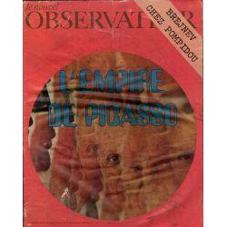 Le Nouvel Observateur n° 363 - 25 octobre 1971 - L'Empire de Picasso