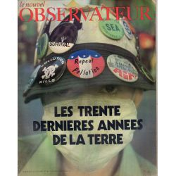 Le Nouvel Observateur n° 361 - 11 octobre 1971 - Les Trente dernières années de la Terre