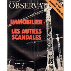 Le Nouvel Observateur n° 359 - 27 septembre 1971 - Immobilier : les autres scandales