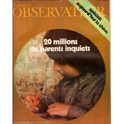Le Nouvel Observateur n° 357 - 13 septembre 1971 - 20 millions de parents inquiets