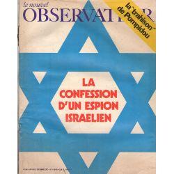 Le Nouvel Observateur n° 356 - 6 septembre 1971 - La confession d'un espion israélien